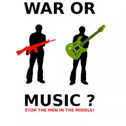 Vrede spreekt niet vanzelf – Oorlogsmuziek?