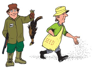 Jagers en Boeren