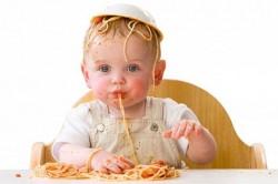 De spaghetti dans